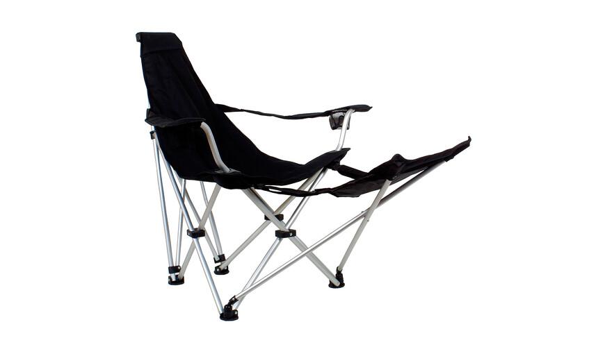 Relags Travelchair Sunchair Foldestol grå/sort